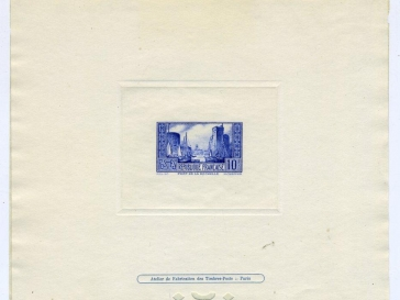 Timbre Algerie Neuf N° 195 ** Oran Wide Varieties Architecture