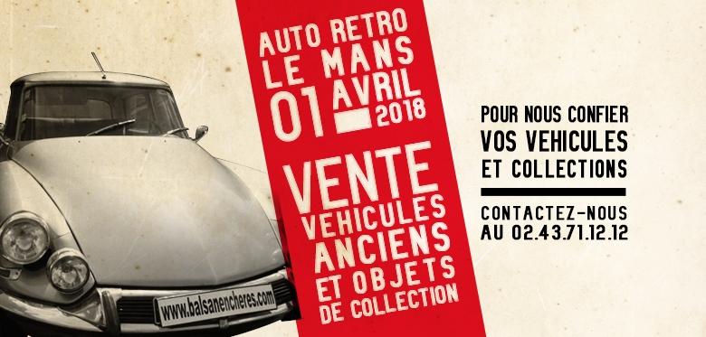 Salon Auto Retro Le Mans