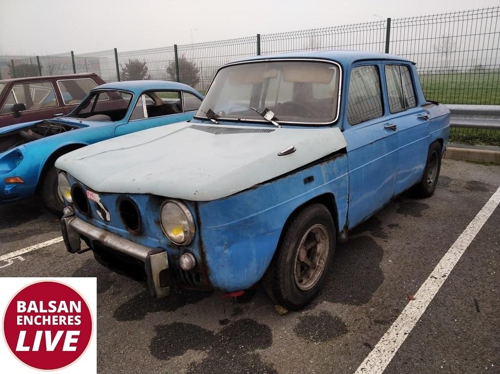 5493 Renault R8 Gordini 1968 Vente De Vehicules De Collection Et De Prestige Balsan Encheres
