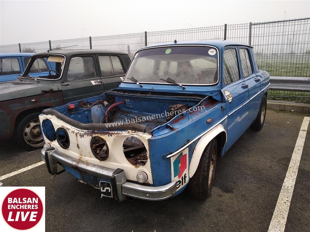 5490 Renault R8 Gordini 1300 1967 Vente De Vehicules De Collection Et De Prestige Balsan Encheres