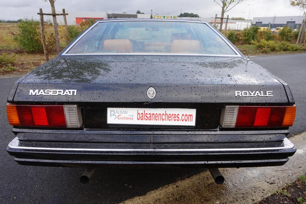 5913 - MASERATI Quattroporte III 1986 - VENTE PHYSIQUE ET ...